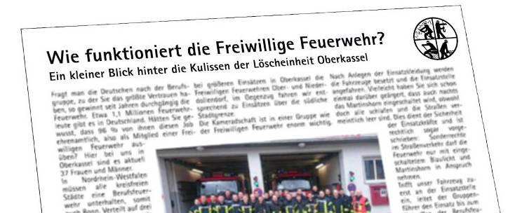 Bericht Oberkasseler Zeitung 2016